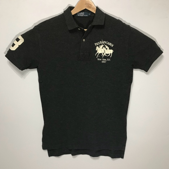 Polo By Ralph Lauren Shirts Grey Polo Ralph Lauren Large Pony Grey